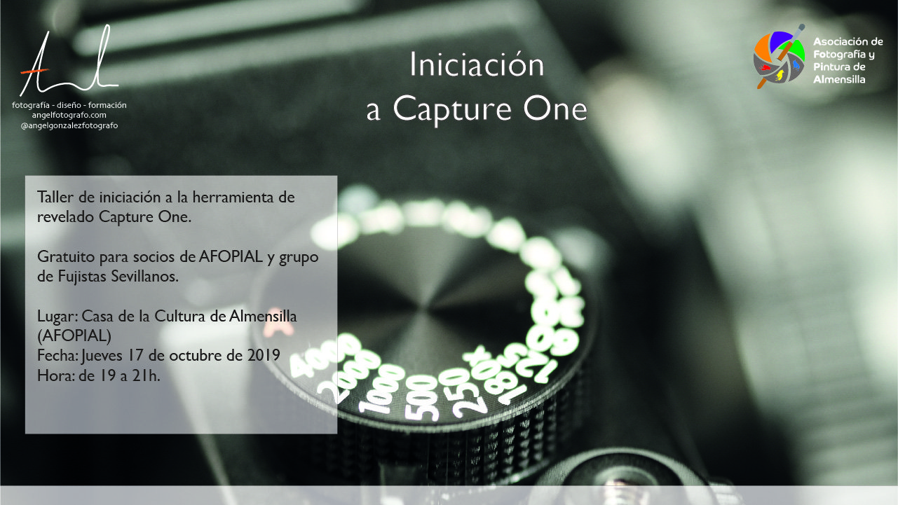 Cartel Taller de Capture One